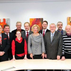 Kandidaten der SPD für das Gleiberger Land