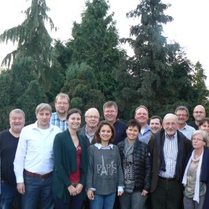 Mitglieder der SPD-Fraktion sowie des Ortsvereinsvorstandes der SPD Wettenberg in Limburg