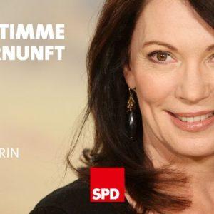 """Iris Berben unterstützt die Kampagne """"Meine Stimme für Vernunft"""""""