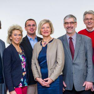 Die Kandidatinnen und Kandidaten der SPD Gleiberger Land für die Kreistagswahl.
