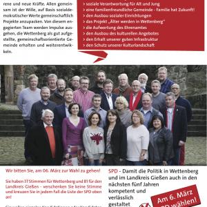 Ein Gruppenbild der KandidatInnen auf Burg Gleiberg. Dazu der auch in der Meldung stehende Text.